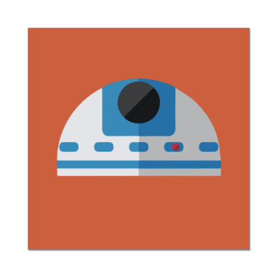 Наклейка (стикер) Star Wars: R2-D2
