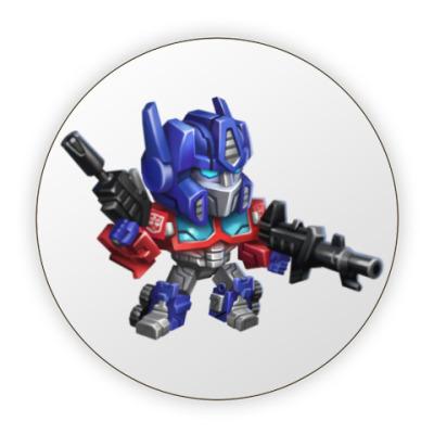 Костер (подставка под кружку) Optimus Prime