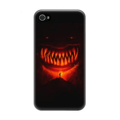 Чехол для iPhone 4/4s Монстр