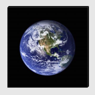 Холст Земля
