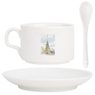 Кофейный набор Петропавловская крепость