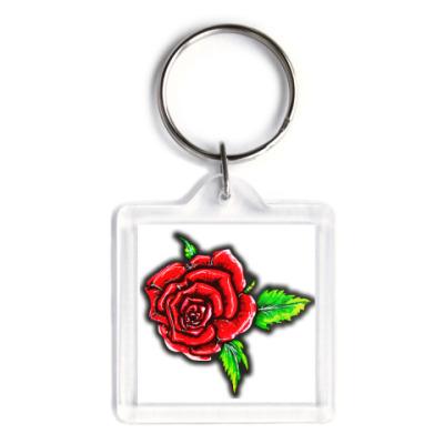Брелок Летняя роза