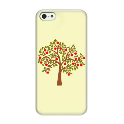 Чехол для iPhone 5/5s Яблоня