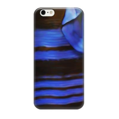 Чехол для iPhone 6/6s Сине-черное платье