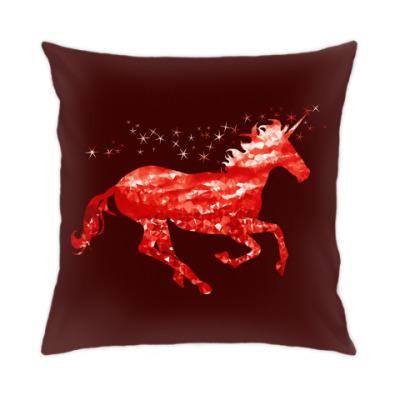 Подушка Рубиновый Единорог