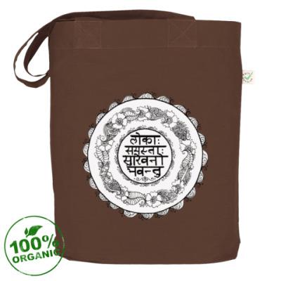 Сумка Мандала - Мантра - Lokāḥ samastāḥ sukhino bhavantu
