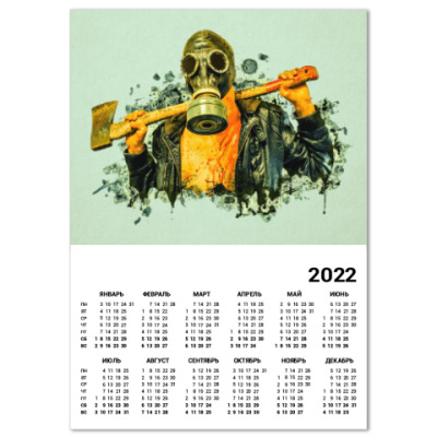 Календарь Zombie Killer
