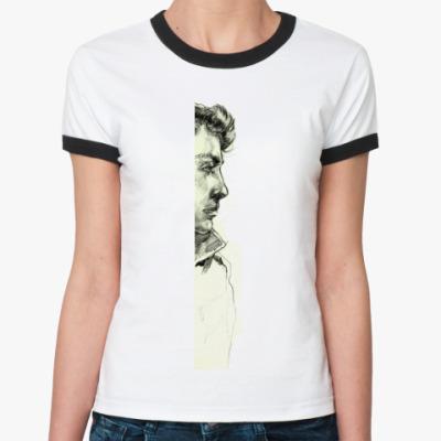 Женская футболка Ringer-T Взгляд