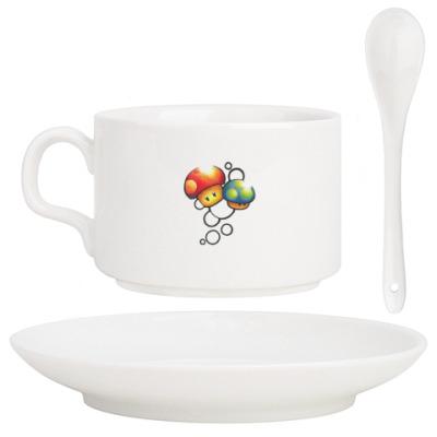 Кофейный набор Mario Mushrooms