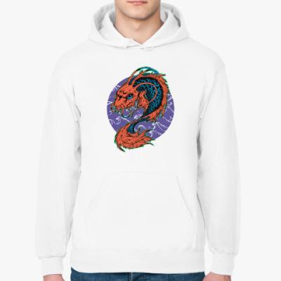 Толстовка худи Dragon Fish