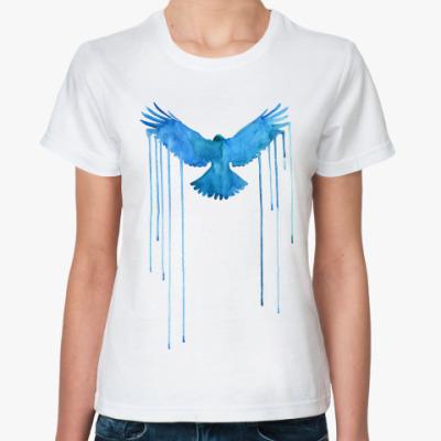 Классическая футболка Синяя птица