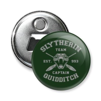 Магнит-открывашка Slytherin Quidditch Team