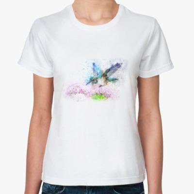 Классическая футболка Птица