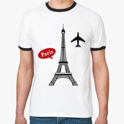 Футболка Ringer-T Париж, Франция