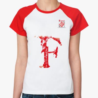 Женская футболка реглан Морской флаг «Foxtrot»