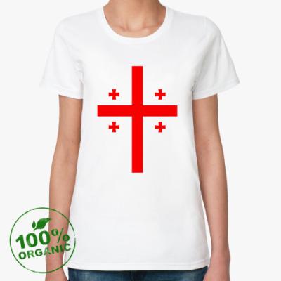 Женская футболка из органик-хлопка Georgia (Грузия)