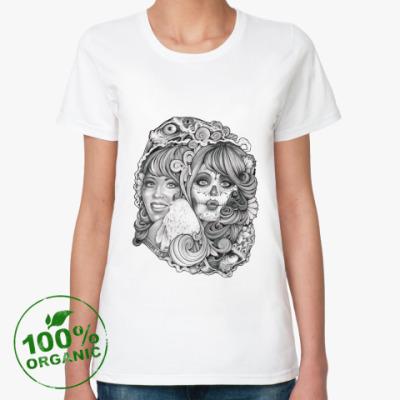 Женская футболка из органик-хлопка Two Ways