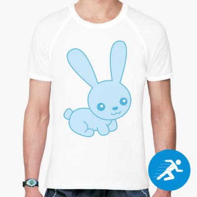 Спортивная футболка Зайка