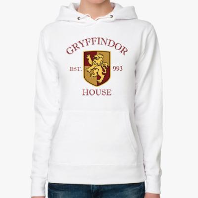 Женская толстовка худи Gryffindor