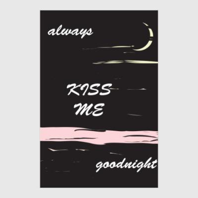 Постер Поцелуи на ночь
