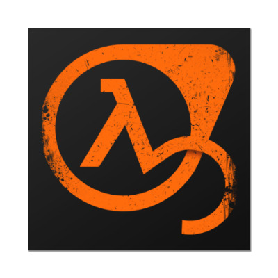 Наклейка (стикер) Half-Life 3