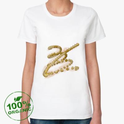 Женская футболка из органик-хлопка Тыквенный водоворот