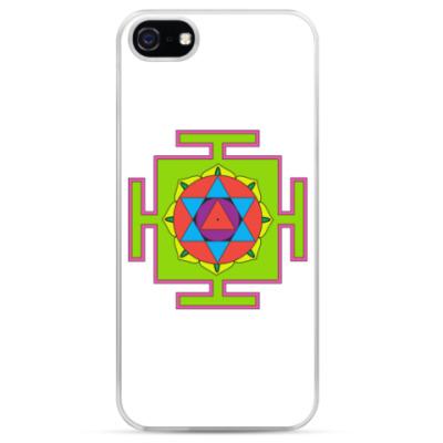 Чехол для iPhone Маха-мритьюнджайа-янтра