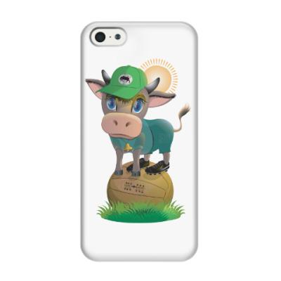 Чехол для iPhone 5/5s Вперед, краснодарский бычок!