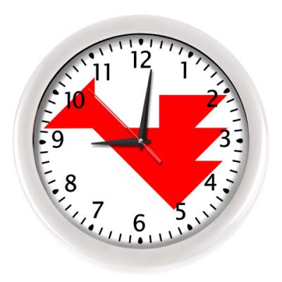 Настенные часы Дракон танграм
