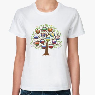 Классическая футболка Славянское дерево