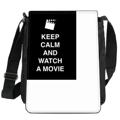 Сумка-планшет Keep calm and watch a movie