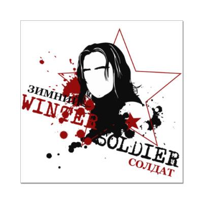 Наклейка (стикер) Winter Soldier
