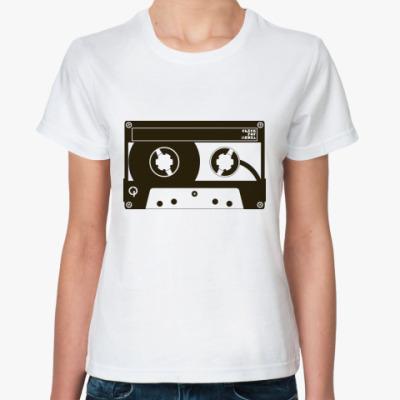 Классическая футболка Music / Listen