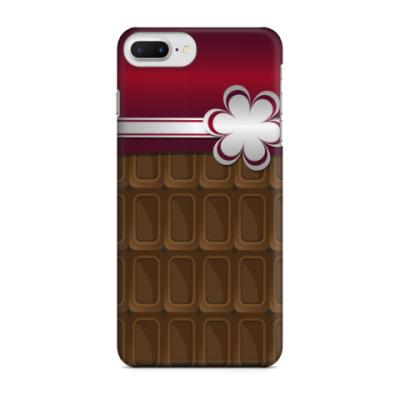 Чехол для iPhone 7 Plus шоколадка