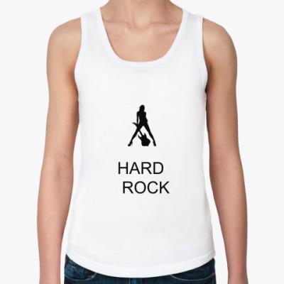Женская майка Hard rock