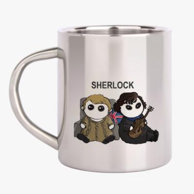 Кружка металлическая Sherlock