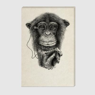 Холст Monkey
