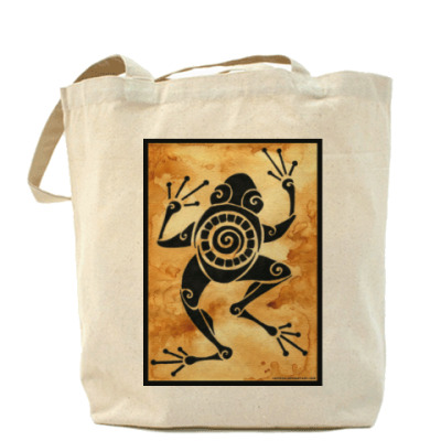 Tribal Tote - Frog
