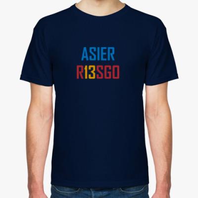 Футболка Asier Riesgo №13 / Асьер Риесго №13