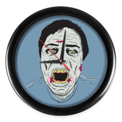 Настенные часы Зомби