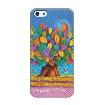 Чехол для iPhone 5/5s Дерево Счастья