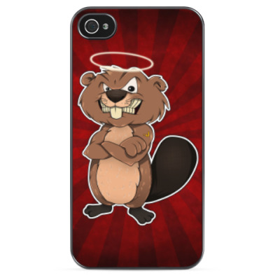 "Чехол iPhone 4/4s""St. Beaver"""