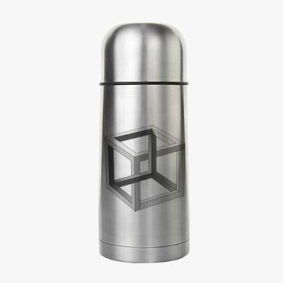 Термос Невозможный Куб 3D