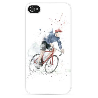 Чехол для iPhone Я люблю свой велосипед