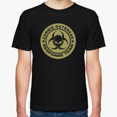 Футболка Zombie outbreak response team
