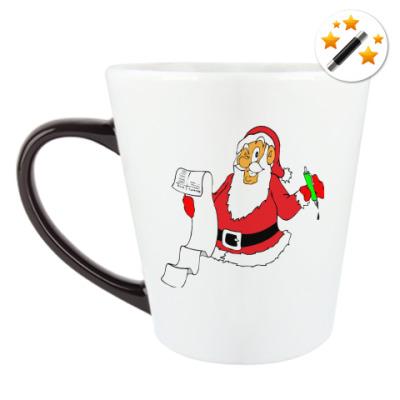 Кружка-хамелеон Дед Мороз