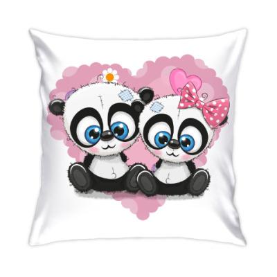 Подушка Маленькие панды