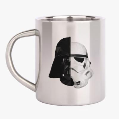 Кружка металлическая Star Wars: Вейдер и Штурмовик