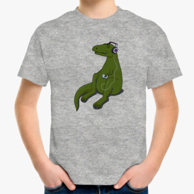 Детская футболка Тираннозавр