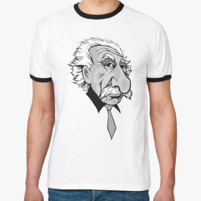 Футболка Ringer-T Эйнштейн